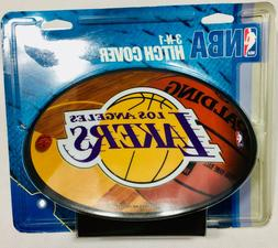 NBA Los Angeles Lakers   3-In-1 Trailer Hitch Cover Made in