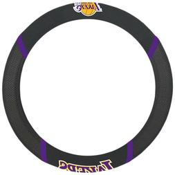 FANMATS NBA Los Angeles Lakers Polyester Steering Wheel Cove