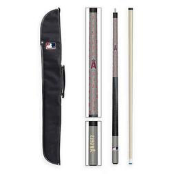 NEW! Los Angeles Angels  MLB Team Cue and Case Set - Imperia