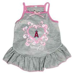 NEW LOS ANGELES ANGELS PET DOG PINK TOO CUTE SQUAD CHEERLEAD