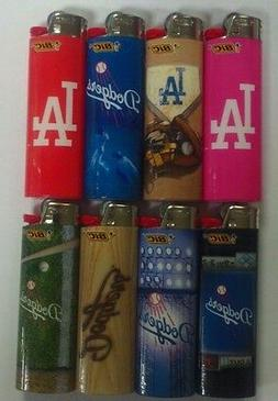 NEW LOS ANGELES DODGERS MLB BIC LIGHTER SET OF 8 ONE OF EACH