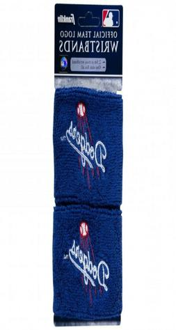 NEW Los Angeles Dodgers official team logo wristbands Frankl