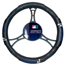 NEW Los Angeles Dodgers Steering Wheel Cover Universal Fit 1