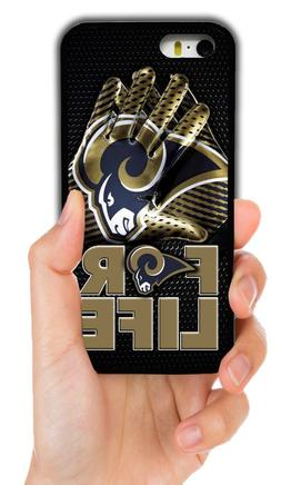 LOS ANGELES RAMS RUBBER PHONE CASE COVER FOR IPHONE XS MAX X