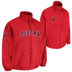 New Men's Los Angeles Angels Majestic OnField Triple Climate
