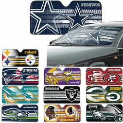 New NFL All Team Car Truck Windshield Folding Front Window S