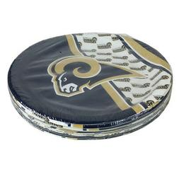 """New NFL Los Angeles Rams 9.75"""" Disposable Paper Plates Party"""