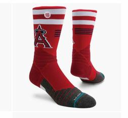 STANCE SOCKS MLB LOS ANGELES ANGELS PRO CREW M559A18ANG RED
