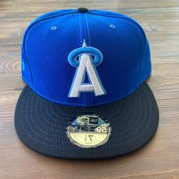 RARE Vintage MLB New Era Los Angeles Angels 59Fifty Fitted H