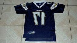 Reebok Philip Rivers Los Angeles Chargers # 17 Football Jers
