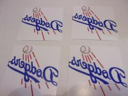 SET OF 4  LOS ANGELES DODGERS  DRINK COASTERS    NEW - HANDM