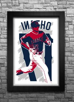 SHOHEI OHTANI art print/poster LOS ANGELES ANGELS FREE S&H!