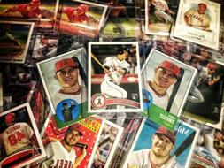 trout fishinmike trout topps rookie chase pack8