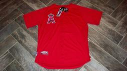 WOW! Authentic LOS ANGELES ANGELS Batting Jersey 48 Majestic